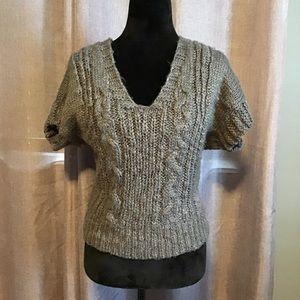 Jessica Simpson gray sweater